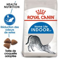 10kg Indoor 27 Royal Canin - Croquettes pour chat