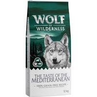 Wolf of Wilderness The Taste of the Mediterranean - Economy Pack 2 x 12kg
