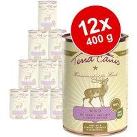 Pack Ahorro: Terra Canis Menú 12 x 400 g - Pack mixto con 6 variedades