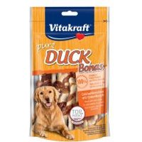 Snacks Vitakraft pure DUCK Bonas huesos para perros - 80 g