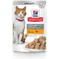 Hill's Young Adult Sterilised para gatos - 48 x 85 g Pack mixto: Pollo y salmón