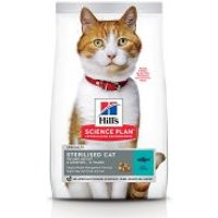 Hill's Young Adult Sterilised con atún pienso para gatos - 15 kg