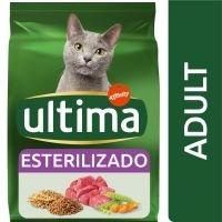 Ultima Esterilizado Adult con buey para gatos - 2 x 3 kg - Pack Ahorro