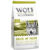 Wolf of Wilderness Green Fields con cordero - 1 kg