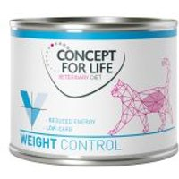 Concept for Life Veterinary Diet Weight Control para gatos - 12 x 200 g