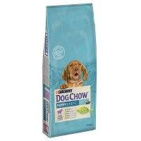 Purina Dog Chow Puppy con cordero y arroz - 12 + 2 kg ¡gratis!