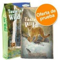 Taste of the Wild para gatos - Pack mixto - 2 x 2 kg: Rocky Mountain (2 kg) + Canyon River (2 kg)