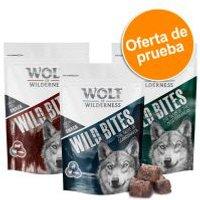 Wolf of Wilderness Wild Bites - Pack de prueba  - Pack mixto Junior 2 x 180 g: ternera y cordero