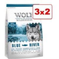 Wolf of Wilderness 3 kg en oferta: 2 + 1 ¡gratis! - Soft Wide Acres con pollo