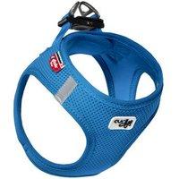 Curli Vest Geschirr Air-Mesh - blau - Größe L: 50 - 56 cm Brustumfang