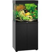 Juwel Aquarium Kombination Lido 120 LED SBX - dunkles Holz