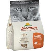 Gemischte Probierpakete Almo Nature - 2 kg Holistic Fettfisch & Reis + 6 x 70 g Thunfisch & Jungsardellen
