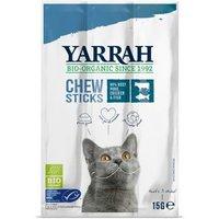 Yarrah Bio Katzensnack Kaustangen mit Fisch - Sparpaket 6 x 3 Stück