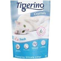 Tigerino Crystals Fresh - klumpende Katzenstreu - 5 l