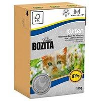 Bozita Feline Tetra Recart  6 x 190 g - Indoor & Sterilised