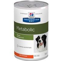 Hill's Metabolic Prescription Diet comida húmeda para perros - Pack % - 24 x 370 g