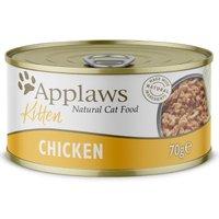 Applaws Katzenfutter Kitten 6 x 70 g - Huhn