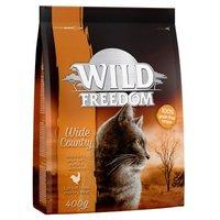 Wild Freedom Probierpaket: 400 g Trockenfutter + 6 x 200 g Nassfutter - Green Lands Lamm + gemischtes Paket