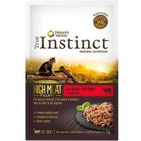 True Instinct High Meat Fillets 8 x 70 g para gatos - Salmón escandinavo y verduras