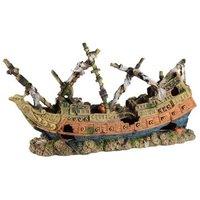 Aquatlantis Aquariendeko griechisches Schiff - 1 Stück