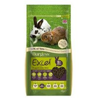 'Burgess Excel Adult Rabbit Nuggets With Mint - 4kg