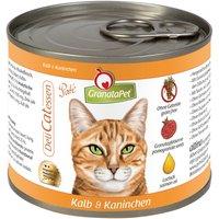 GranataPet Cat DeliCatessen 6 x 200g - Veal & Rabbit