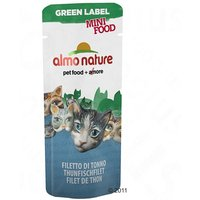 Almo Nature Green Label Mini Food pour chat - 5 x 3 g, poulet