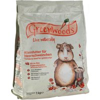 Greenwoods Guinea Pig Food - Economy Pack: 2 x 3kg