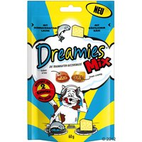 Friandises Dreamies Catisfactions Mix, saumon & fromage - lot % : 6 x 60 g