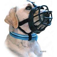 Baskerville Ultra T. 6 Muselière pour chien (rottweiler, dogue allemand) - Muselière pour chien