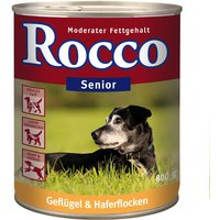 Rocco Senior Saver Pack 24 x 800g - Lamb & Millet