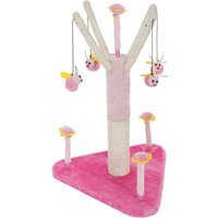 Flying Bees Cat Tree - Pink