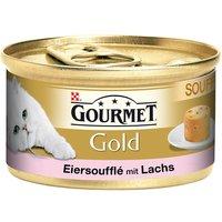 Gourmet Gold Soufflé aux œufs 12 x 85 g - saumon