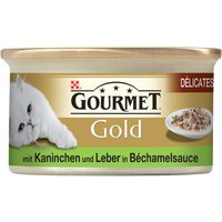 Gourmet Gold Delicacies in Sauce 12 x 85g - Beef & Chicken