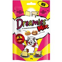 Dreamies Mix Cat Treats 60g - Saver Pack: 6 x Salmon & Cheese