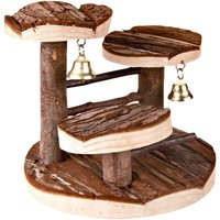 Climbing Frame for Hamsters from Natural Wood - 15 x 14 x 14 cm (L x W x H)
