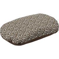 Aumller Baroque Spelt Cushion - Brown - 100 x 65 x 15 cm (L x W x H)