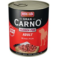 Lot 6 saveurs Animonda GranCarno Adult 6 x 800 g - lot 6 saveurs 1