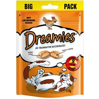 Friandises Dreamies Catisfactions maxi format, poulet - lot% : 3 x 180 g