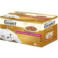 Gourmet Gold Menu varié 12 x 85 g - fine composition
