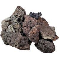 Icelandic Lava Rock - Aquarium Decoration - 100 cm Set: 10 natural rocks, approx. 6 kg