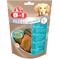 Friandises 8in1 Fillets Pro Dental, poulet S - 80 g