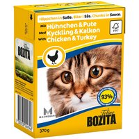 Bozita Chunks Mixed Trial Packs 6 x 370g - Poultry & Fish in Sauce