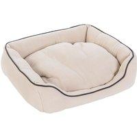 Vanilla Pet Bed - Beige - 50 x 45 x 12 cm (L x W x H)