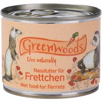 Greenwoods Wet Food for Ferrets - Saver Pack: 24 x 200g