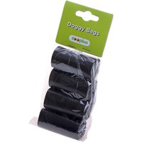 Dog Poop Bags - 4 Rolls, scented (20 bags per roll)