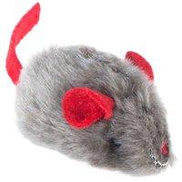 Souris sonore avec menthe à chat - 1 souris