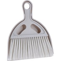 Mini Dustpan and Brush - Light Grey