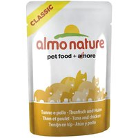 Almo Nature Classic Pouches Saver Pack 24 x 55g - 3 Tuna in Jelly Varieties