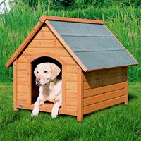 Trixie Natura Pitched Roof Dog Kennel - Size XL: 112 x 96 x 105 cm (L x W x H)